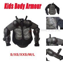 ילדים נוער גוף שריון מנוע מוטוקרוס אופני עפר Quad מגן S/XS/XXS/M/L