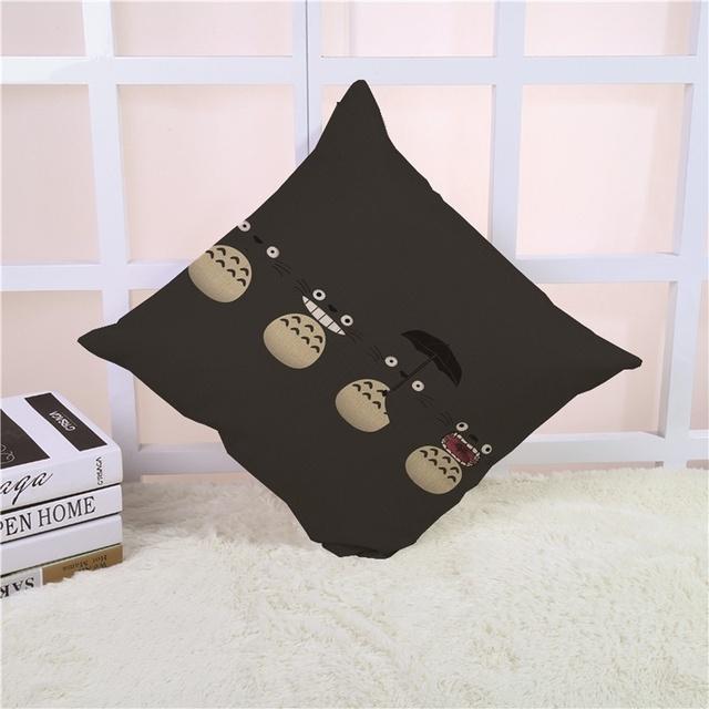 45x45cm Cute Totoro Pillow Cover (4 design)