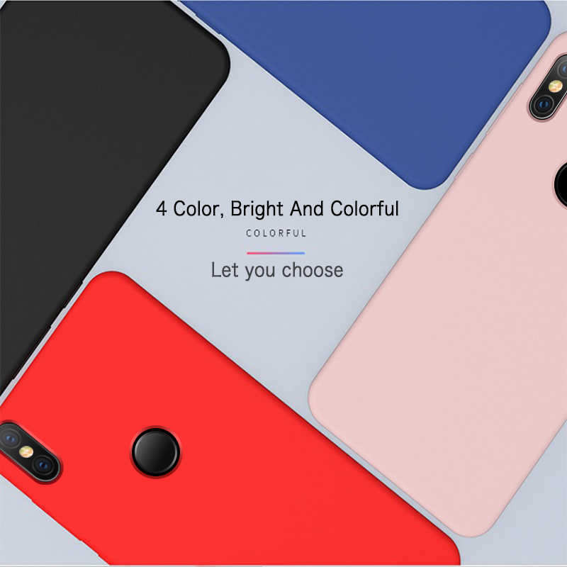 GKK ケース xiaomi 8 プロケース Xiaomi 8 Lite カバー液体シリコン Pc 内部のダブル Xiaomi A2 coque ミックス 2S 3 ケース