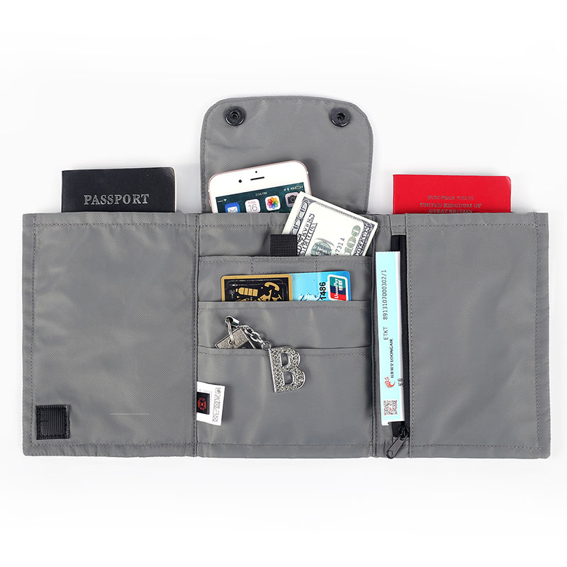 iSuperb Waterproof Oxford Travel Passport Wallet Credit Card Holder
