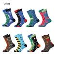 VPM Новые красочные хлопковые крутые мужские короткие носки Harajuku в стиле хип-хоп Смешные Мультяшные новые носки с Пчелой для мужчин в подарок