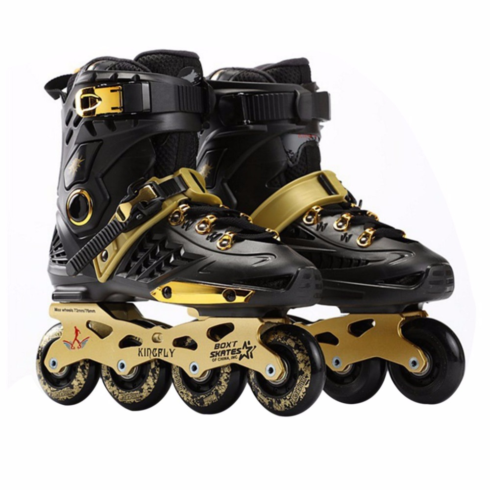 New Adult Single-row Roller Skating Shoes Straight Inline Skates Professional Skates Shoes Universal For Men And Women Hot Sales adjustable professional adult sliding slalom inline skates shoes roller skating shoes roller skate shoes s m l inline skating