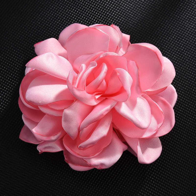 Hot Randen Rose Bloem Sieraden Bevindingen Stof Hanger Eeuwige Haar Accessoires Materiaal DIY Sleutelhanger Accessoires