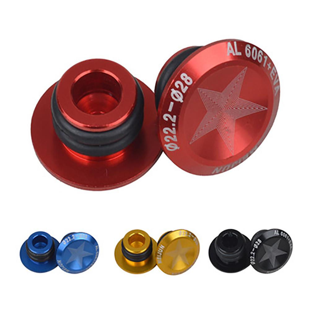 FIFTY-FIFTY 4-Pack Mountian Bike Bar End Plugs Bicycle Handlebar End Caps