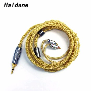 Free Shipping Haldane 1.2 meter 2.5mm TRRS Balanced Hand Made 0.78mm 2pin for UE18/JH13/16/W4r/UM3X/1964 Headphone Upgrade Cable