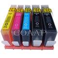 5 cartuchos de tinta astillados para HP 364 XL compatibles para Officejet 4610 4620 4622 Photosmart C309n, C309g, c310a Fax C309a... C410b