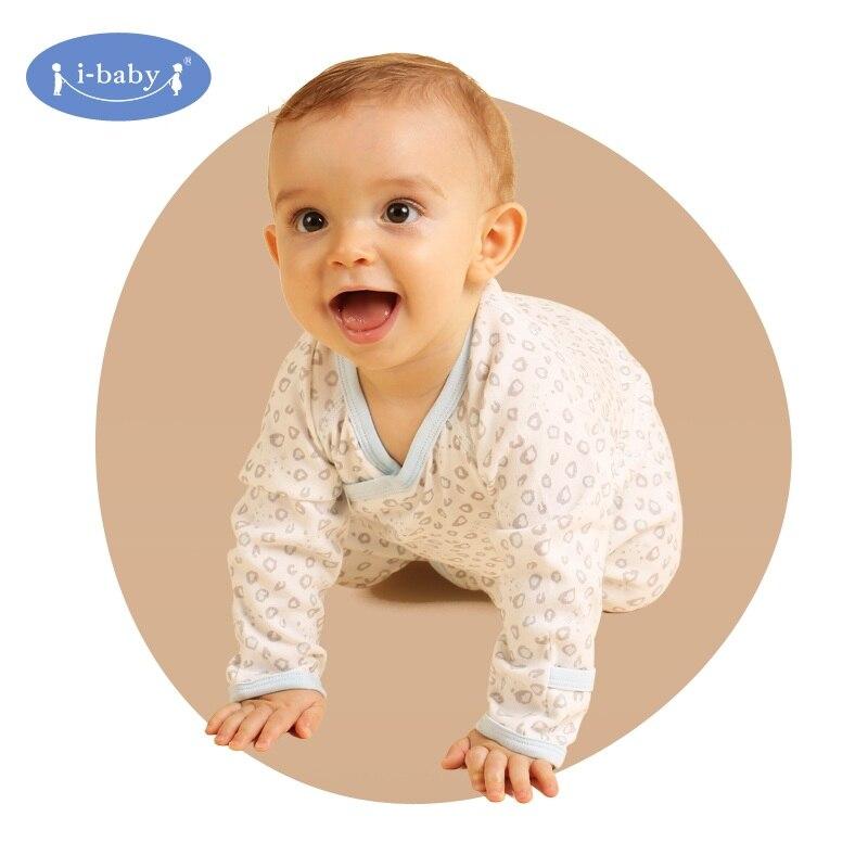PIMA COTTON Unisex Baby Rompers Long Sleeve Cotton O-Neck 0-6M Newborn Boys&Girls Roupas de bebe Baby Spring Clothes
