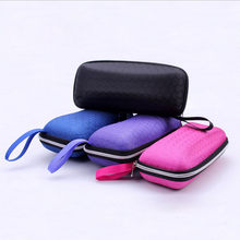 Eyewear Cases Cover Sunglasses Case For Women Glasses Box With Lanyard Zipper Eyeglass Cases For Men HO838600(China)