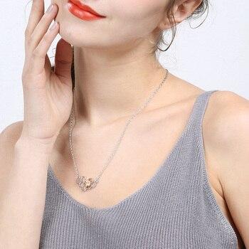 X&P Charm Girl Heart Honeycomb Bee Animal Pendant Choker Necklace 1
