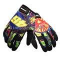 Guantes gants moto de los hombres/de las mujeres de impresión guantes de moto motocross off road racing guante moto bicicleta al aire libre guantes protectores