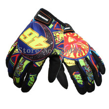 guantes gants moto Men/Women Print Motorcycle Gloves Motocross Off Road Racing Glove Motorbike Bicycle Outdoor Protective Gloves