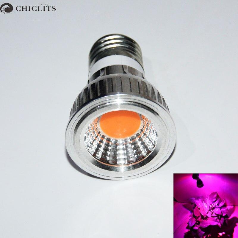 e27 led light bulb 3w 220v spotlight full spectrum led grow light lamp. Black Bedroom Furniture Sets. Home Design Ideas