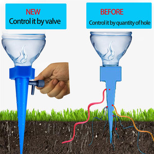 Image 3 - Plant Self Watering Adjustable Stakes System 12pcs/set Vacation Plant Waterer Automatic Watering Spikes Irrigation System #YJ