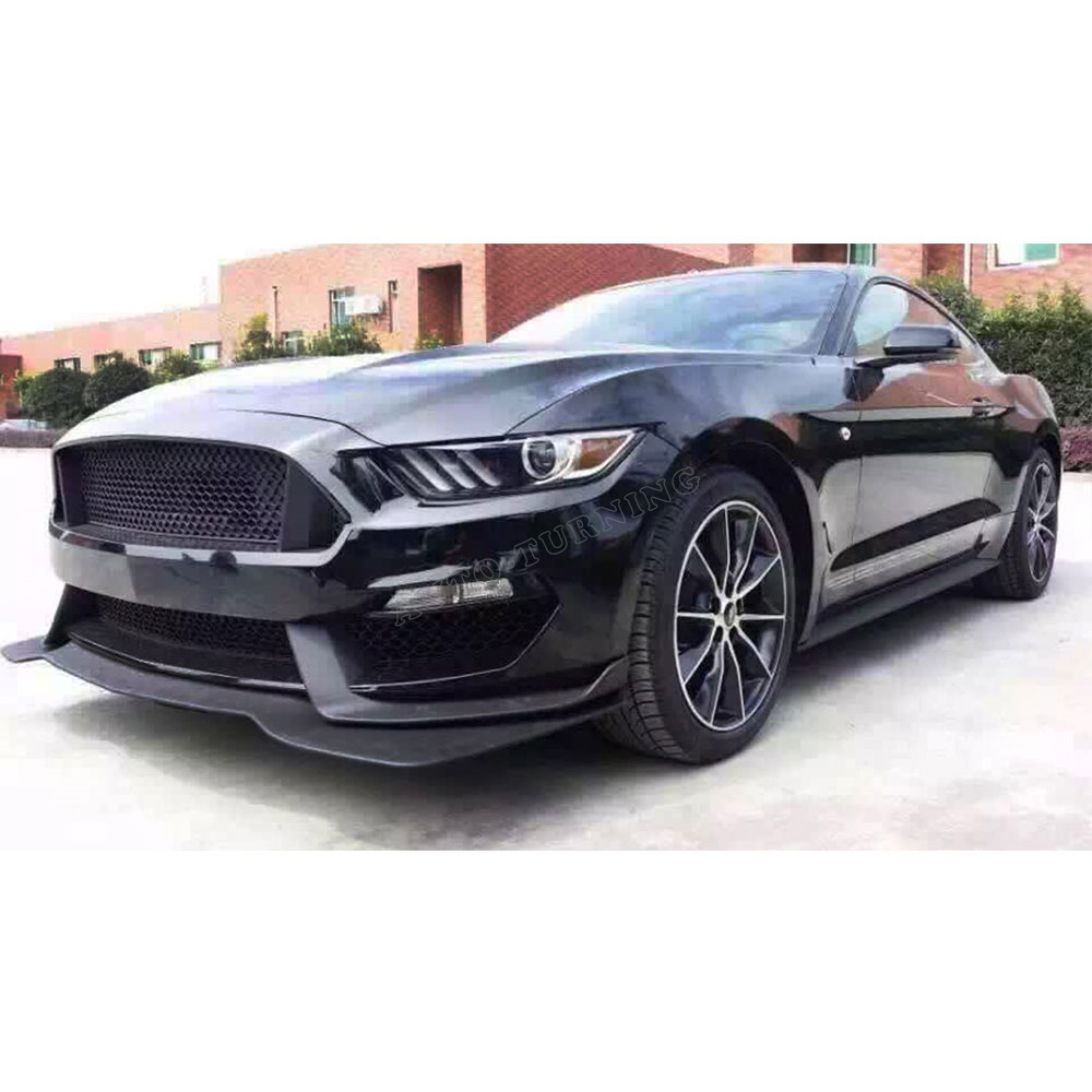Pp Car Style Unpainted Auto Car Bumper Styling Body Kits For Ford Mustang