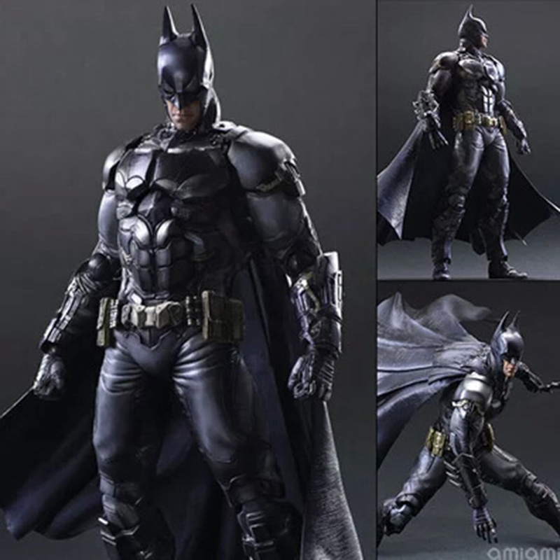 ФОТО Wolves World New Arkham Knight painted figure Play Arts PVC Action Figure Collectible Model Doll Toy Gift Model Figurines PA0014