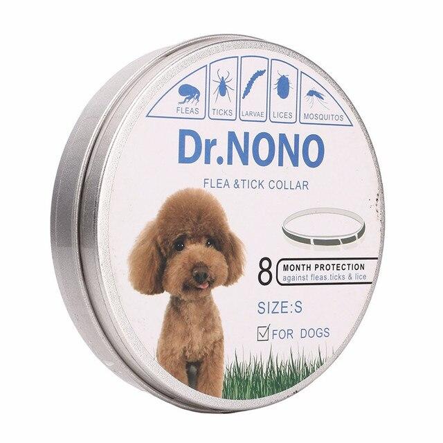 Collare di cane Del Gatto Anti Pulci Zecche Zanzare Respingono Outdoor Regolabil