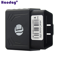 High Quality Real time tracking locator Mini OBD vehicle GPS tracker TK306 Overspeed alarm Movement alarm 850/900/1800/1900Mhz