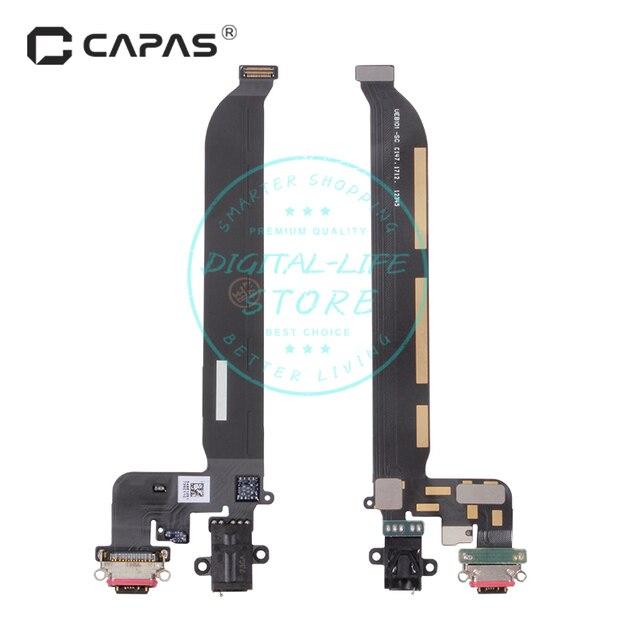 עבור Oneplus 5 A5000 USB Dock Connector מטען טעינת נמל יציאת אוזניות חלקי חילוף לתיקון החלפת Flex כבל מודול
