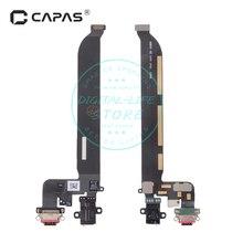 Разъем док станции для Oneplus 5 A5000, USB порт для зарядки, разъем для наушников, гибкий кабель, модуль, замена, ремонт, запасные части