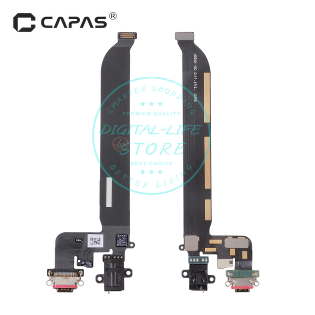for Oneplus 5 A5000 Dock Connector USB Charger Charging Port Earphone Jack Flex Cable Module Replacement Repair Spare Parts
