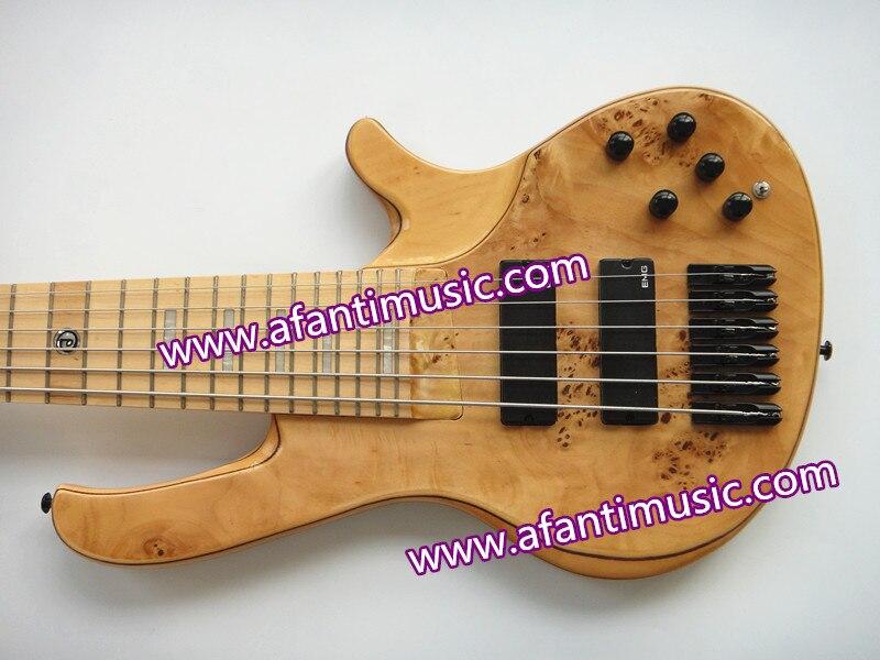 Afanti Musique/Cendres Corps/Manche Érable et Manche/AFANTI 6 Cordes Basse Électrique/guitare Basse (ABB-929)