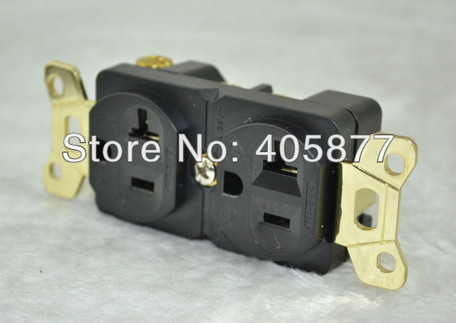 Aliexpress com : Buy refrigeration Series Hi End G Gold plated US Power  Receptacles wall outlet distributor from Reliable us outlet suppliers on  HIFI