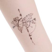 Wyprzedaż Tattoo World Map Galeria Kupuj W Niskich Cenach