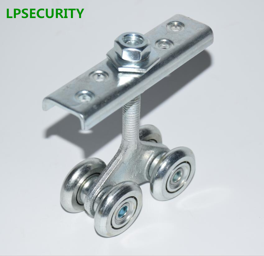 LPSECURITY 150kg holding force Industrial gate hanging wheel, lifting pulley, factory gate pulley, sliding door pulley lpsecurity 150kg holding force industrial gate hanging wheel lifting pulley factory gate pulley sliding door pulley