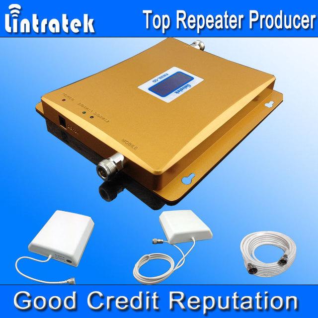 Pantalla LCD! GSM 900 Mhz 1800 MHz Dual Band Booster de Señal GSM DCS Repetidor de Señal de Teléfono Móvil 900 1800 Celular Booster S33