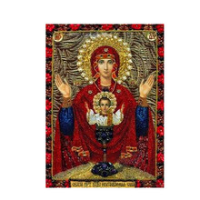 Diamond Painting Diamond Embroidered 5D Diy Round Diamond Diamond Mosaic Cross Stitch Home Decoration Religious Gifts diamond painting diamond embroidered 5d diy round diamond diamond mosaic cross stitch home decoration religious gifts
