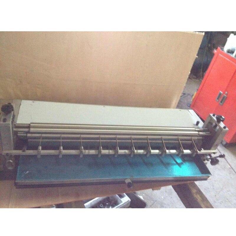 Настольная клеевая машина из нержавеющей стали, белая пластиковая бумага для кондиционирования воды на пластиковой машине 220 В 150 Вт - 3