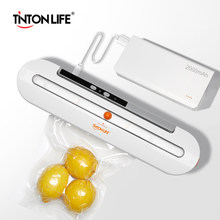 2000mAh Wireless Food Vacuum Sealer Travel Packaging Machine With 10pcs Bags(China)