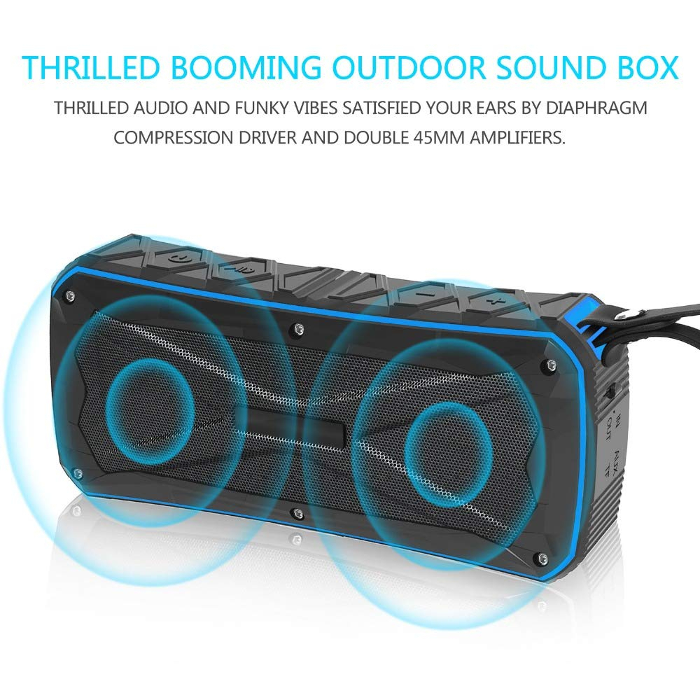 Image 2 - Outdoor Speaker Portable Waterproof Bluetooth Speaker Riding Climbing Bicycle Speakers Handsfree TF Card Audio Music Center-in Outdoor Speakers from Consumer Electronics