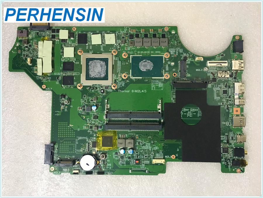 FOR MSI GE62 GE72 6QF MOTHERBOARD MS-16J41 DDR3 <font><b>i7</b></font> <font><b>6700HQ</b></font> non-integrated GTX97M image
