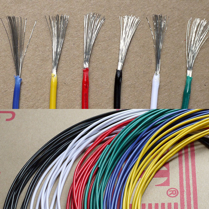 5 Meters <font><b>UL1007</b></font> <font><b>20AWG</b></font> Wire 1.8mm PVC Electronic Cable UL Certification image