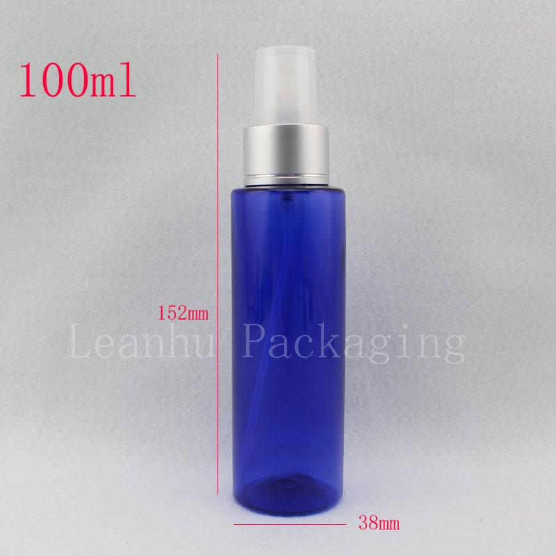 100ml blue refillable empty plastic spray pump bottles - Botellas para perfumes ...