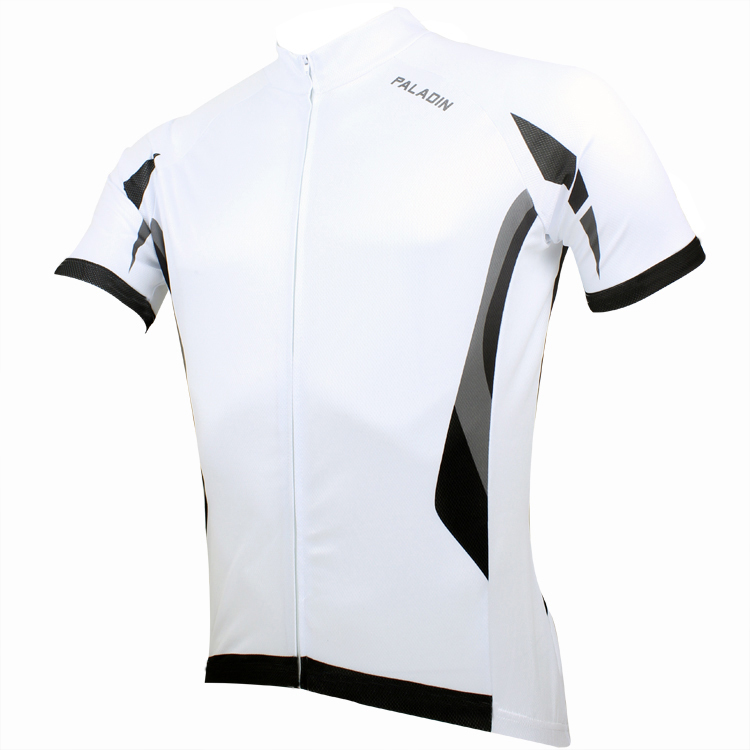 CYCLING JERSEYS Men's White Cycling Jerseys top Sleeve Bike Clothing Breathable bike top 2016 hot Cycling Clothing ILPALADIN 2016 new men s cycling jerseys top sleeve blue and white waves bicycle shirt white bike top breathable cycling top ilpaladin