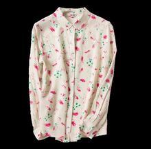 New arrival 100% silk female long-sleeve shirt crepe de chin  knitted silk blouses Small Lapel shirt high-end custom-217b