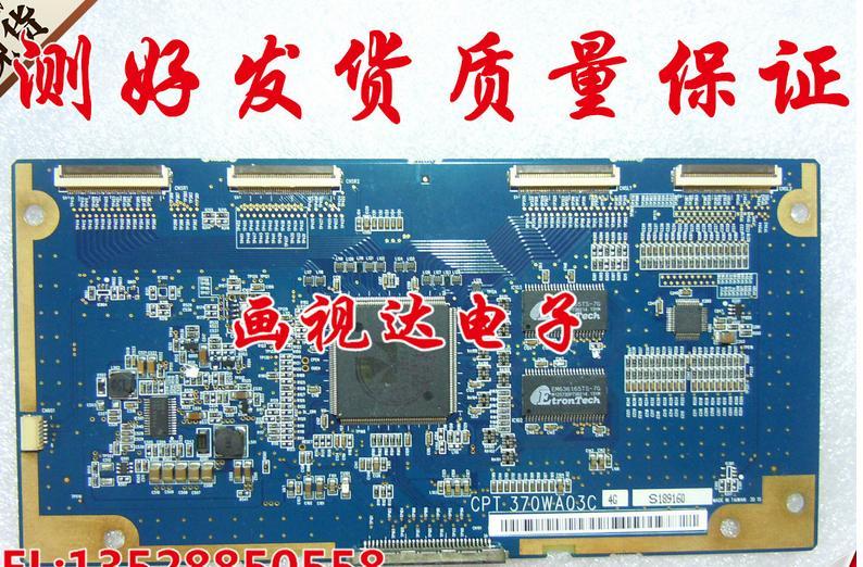 все цены на  Original logic board cpt 370wa03c 4g  T-CON connect board  онлайн