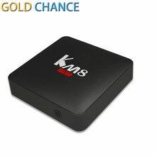 KM8 PRO Android 6.0 TV Kutusu Amlogic S912 Octa Çekirdekli 2 GB 8 GB 2.4G/5G WiFi Bluetooth 4.0 WIFI Avrupa Akıllı TV Kutusu Medya oyuncu
