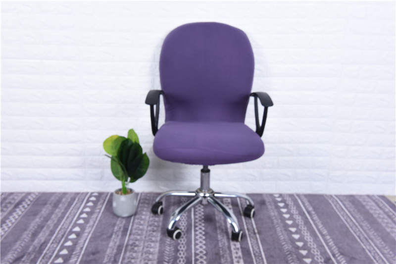 Elasticity Office Computer Chair Cover Side Arm Chair Cover Recouvre Chaise Stretch Rotating Lift Chair Cover Without Chair (10)