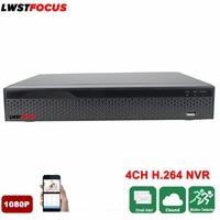 Full HD 4CH NVR H 264 Security CCTV DVR NVR Video Recorder 1080P ONVIF 1 SATA