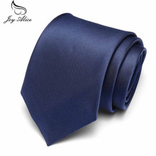 High Quality Solid Color Narrow Neck wear Men Skinny Slim Tie Wedding Party Ties 7.5 cm width Mens