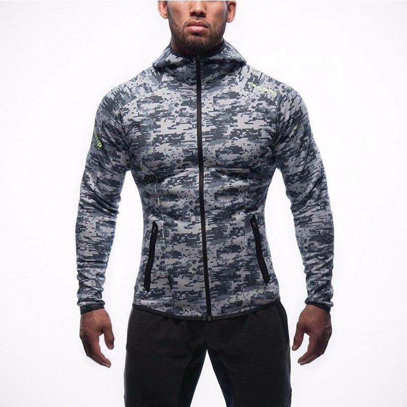 Langes schwarzes Hoodies-Sweatshirt Feece der neuen Ankunfts-freien - Herrenbekleidung - Foto 2