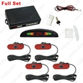Car LED Display 4pcs Original Sensors Reverse Backup Radar System Parking Sensor #FD-1346