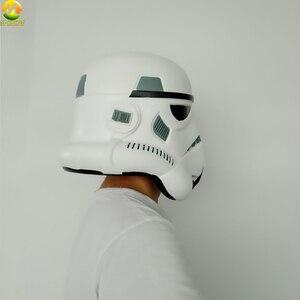 Image 3 - Darth Vader kask gwiezdne wojny maska cesarski szturmowiec Halloween w stylu Cosplay akcesoria na imprezę