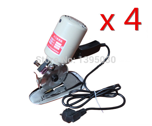 4PCS Lot 220V 110V 200W 90MM Electric Scissors Round Cutting Machine font b Knife b font