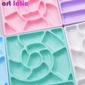 5 Pcs/Set Nail Art Fast Drying Beauty False Art Decorate Tips Acrylic Glue with Brushes 10g