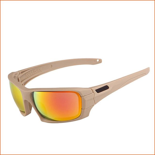 Gafas de sol tácticas polarizadas para hombre gafas militares TR90 gafas  militares antibalas gafas uv400 c125cd826e49