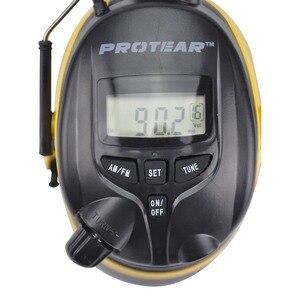 Image 3 - Protear NRR 25dB 청력 보호 장치 AM FM 라디오 귀고리 전자 귀 보호 슈팅 귀마개 라디오 청력 보호